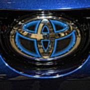 Prototype Toyota Mirai Logo Poster