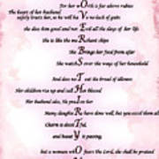 Proverbs 31 Acrostic Poster