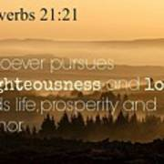 Proverbs109 Poster