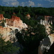 Providence Canyon Poster