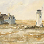 Provincetown Light Poster