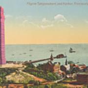 Provincetown Pilgrim Monument Poster