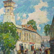 Provincial Russian City Poster