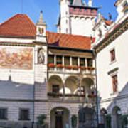 Pruhonice Castle Architecture Poster