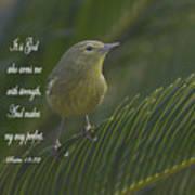 Psalm 18 V 32 Poster