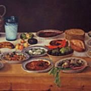 Puebla Kitchen Poster