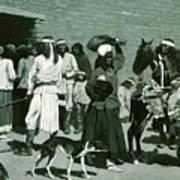 Pueblo Indian Village Poster