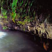Puerto Rico Waterfall Poster