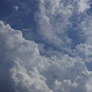 Puffy Clouds II Poster