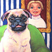 Pug - Beth Ann And Butch Poster