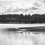 Puget Sound Reflections Poster