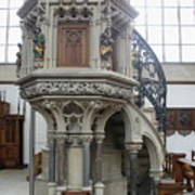 Pulpit - St Lambertus - Germany Poster