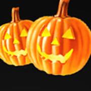 Pumpkin Double  Poster