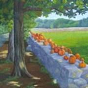 Pumpkin Muster Poster