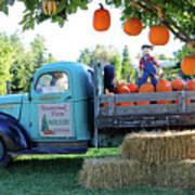 Pumpkin Truck Poster