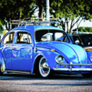 Punch Buggie Blue Poster