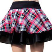 Punk Style Mini Skirt - Ameynra Fashion Poster