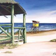 Punta Del Diablo S Morning Poster