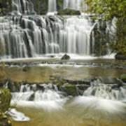Purakanui Falls Poster