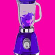 Purple Blender Poster