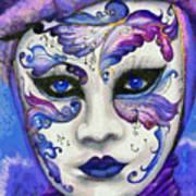 Purple Carnival Poster
