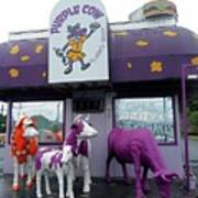 Purple Cow 1 Poster
