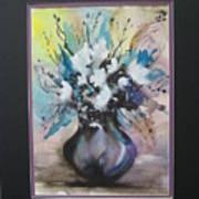 Purple Floral Poster