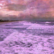 Purple Majesty  Poster by Betsy Knapp