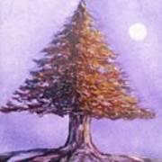 Purple Pine  Poster
