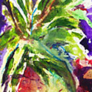 Purple Pineapple Poster