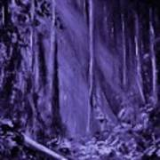 Purple Planet Poster