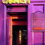 Purple Pub Poster