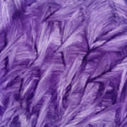 Purple Watercolor Art  Poster