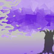 Purple Wind Poster