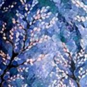 Pussy Willow Abstract Poster