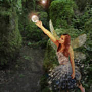 Puzzlewood Fairy Poster