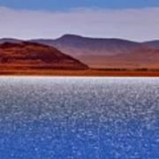 Pyramid Lake Winds Poster