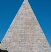 Pyramid Of Caius Cestius Poster