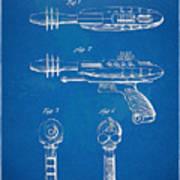 Pyrotomic Disintegrator Pistol Patent Poster