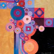 Pythagorean Abstract II Poster