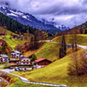Quaint Bavarian Village Poster