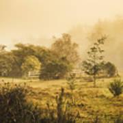 Quaint Countryside Scene Of Glen Huon Poster