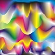 Quantum Landscape 1 Poster