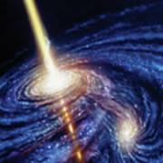 Quasar-b Poster