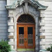 Quebec City Doors 1 Poster