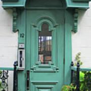 Quebec City Doors 3 Poster