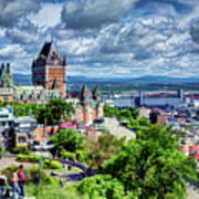 Quebec City Overlook Poster