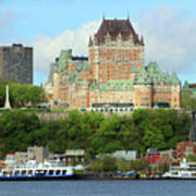 Quebec City Waterfront 6324 Poster