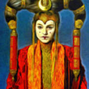 Queen Amidala Senate Costume Poster