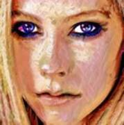 Queen Lavigne Poster